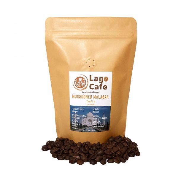 Monsooned malabar arabica kávé